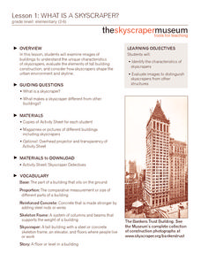 What is a Skyscraper? Lesson Plan