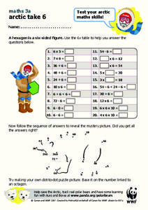 Arctic Take 6 Worksheet