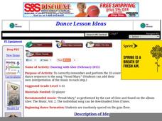 Dancing With Glee Lesson Plan