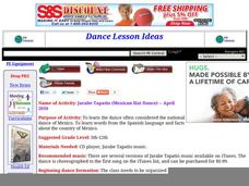 Jarabe Tapatio (Mexican Hat Dance) Lesson Plan