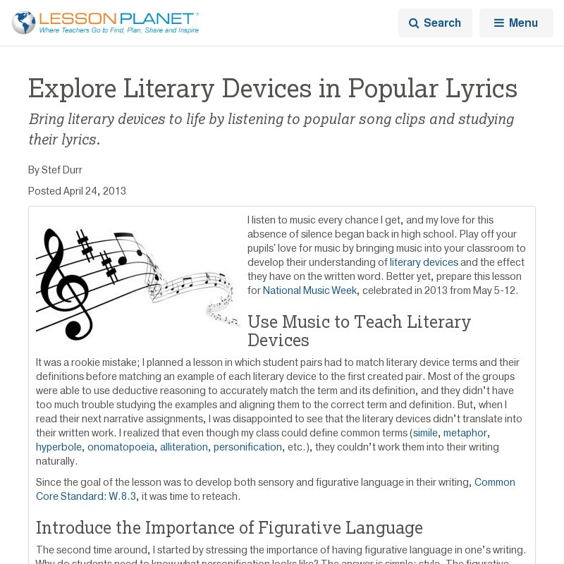 importance of literary devices