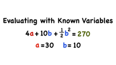 How Do You Plug Variables into an Algebraic Expression? Video