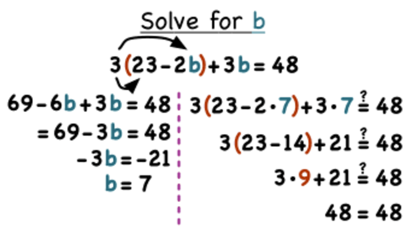 How Do You Solve a Multi-Step Equation by Simplifying Before Solving? Video