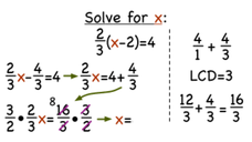 How Do You Solve a Two-Step Equation by Distributing a Fraction First? Video