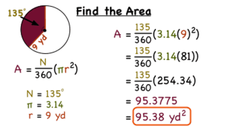 How Do You Find the Area of a Sector of a Circle? Video
