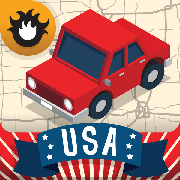 Geography Drive USA™ App