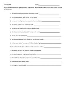 odyssey quiz lesson plans worksheets reviewed by teachers. Black Bedroom Furniture Sets. Home Design Ideas