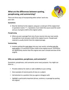 Paraphrasing Worksheets 3Rd Grade Worksheets for all | Download ...