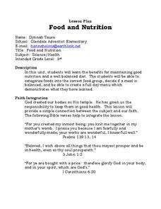 Food and Nutrition Lesson Plan