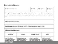 Environmental Journey Lesson Plan