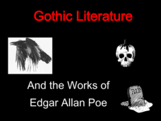 the works of edgar allan poe should be taught in school There's a great deal more to a poem than just its words-as you can help your students  edgar allan poe's poetry can make you shiver, tingle and shriek.