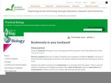 Biodiversity in Your Backyard! Lesson Plan