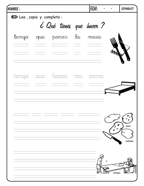 Printable Spanish FREEBIE of the Day: ?Que Te Gusta Hacer ...