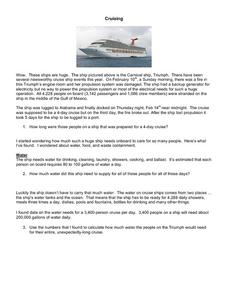 Cruising Lesson Plan