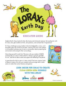 The Lorax's Earth Day Activities & Project