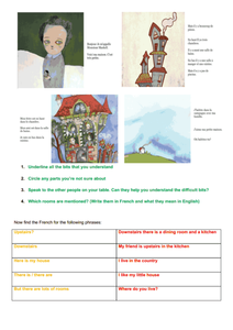 Maison Worksheet Worksheet