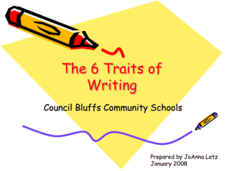 The Six Traits of Writing Presentation