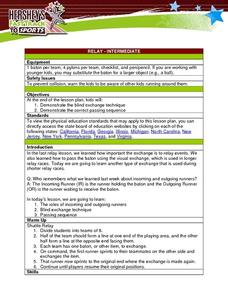 Relay - Intermediate Lesson Plan