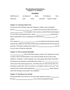 adventure book critical essay review sawyer tom