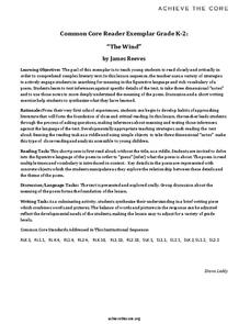 """The Wind"" by James Reeves Unit"