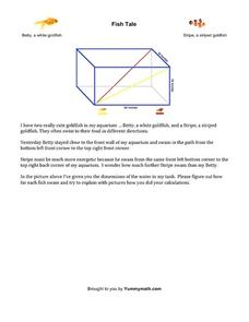Fish Tale Worksheet