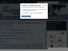 All the Globe's a Stage: Shakespeare's Theatre Lesson Plan