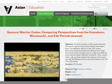 Samurai Warrior Codes: Comparing Perspectives from the Kamakura, Muromachi, and Edo Periods Lesson Plan
