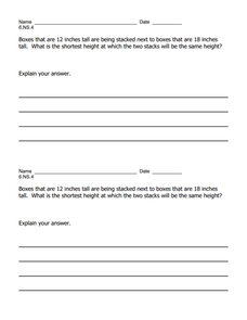 Lcm and Gcf Lesson Plans & Worksheets Reviewed by Teachers