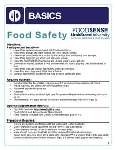Food Safety Handouts & Reference