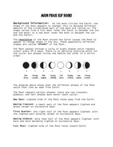 Moon Phase Flip Books Activities & Project