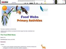 Food Webs Lesson Plan