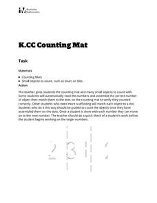 Counting Mat Activities & Project