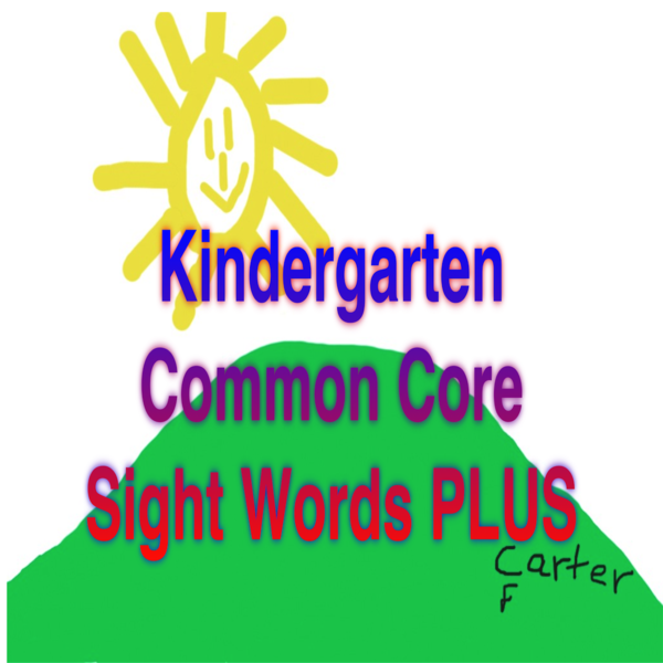 Kindergarten Common Core Sight Words Plus App