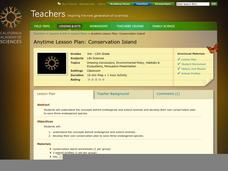 Conservation Island Lesson Plan