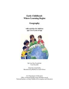 Early Childhood: Five Themes of Geography Lesson Plan
