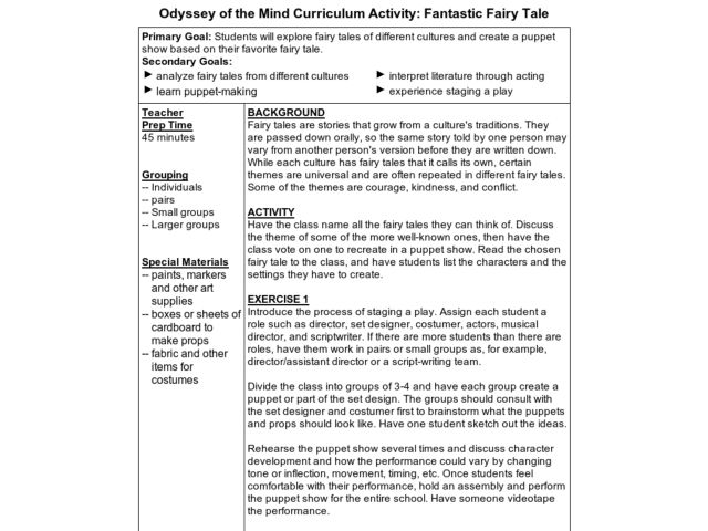 The Odyssey Lesson Plans Worksheets Lesson Planet