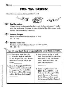 For the Birds Worksheet