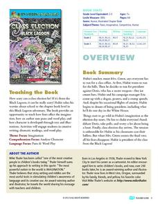 The Class Election from the Black Lagoon Storia Teaching Guide Lesson Plan