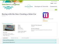 Racing with the Sun: Creating a Solar Car Lesson Plan