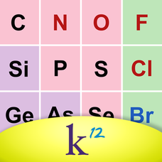 K12 Periodic Table of the Elements App