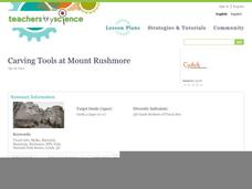 Carving Tools at Mount Rushmore Lesson Plan