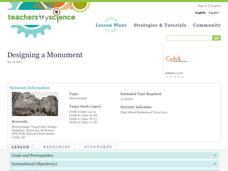 Designing a Monument Lesson Plan