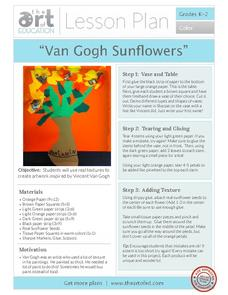 Van Gogh Sunflowers Activities & Project