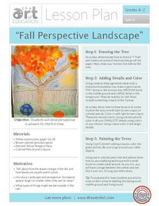 Fall Perspective Landscape Activities & Project