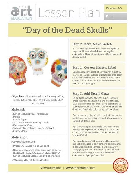 Day of the Dead Skulls Activities & Project