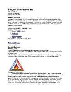 Fire safety lesson plans for 1st graders