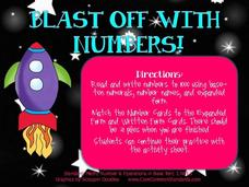 Blast Off with Numbers! Activities & Project