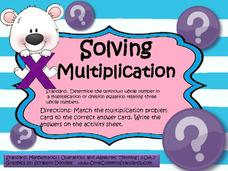 Solving Multiplication Activities & Project