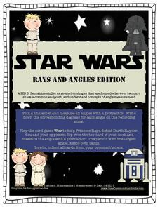 Star Wars: Rays and Angles Edition Activities & Project