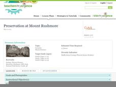 Preservation at Mount Rushmore Lesson Plan